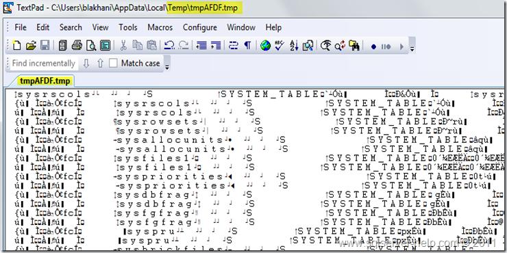 Tmp File