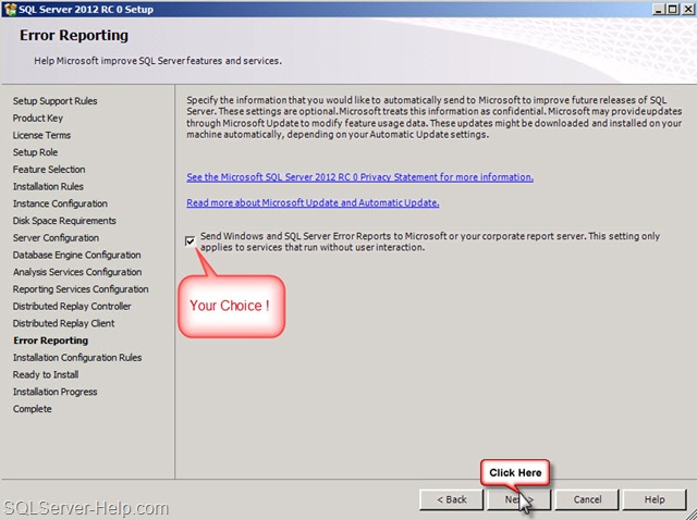Step by Step: Installing SQL Server 2012 RC 0 « Help: SQL Server