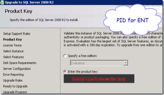 MSDN SQL Server Product Key « Help: SQL Server