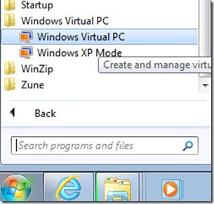 04_Windows Virual PC Shortcut