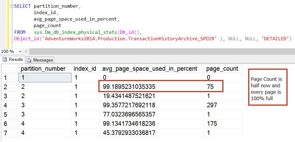 Alter index rebuild partition help sql server - Alter table sql server example ...