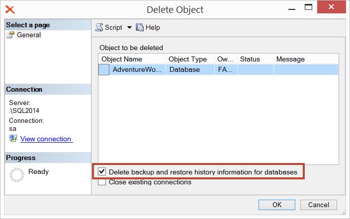 Troubleshooting « Help: SQL Server